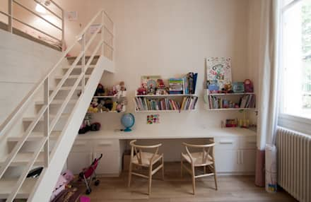 Appartement Luxembourg. Chambre d'enfant: Chambre d'enfant de style de style Moderne par FELD Architecture