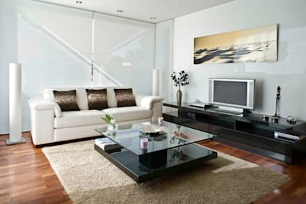Ruang Keluarga by  BB INTERIORISMO