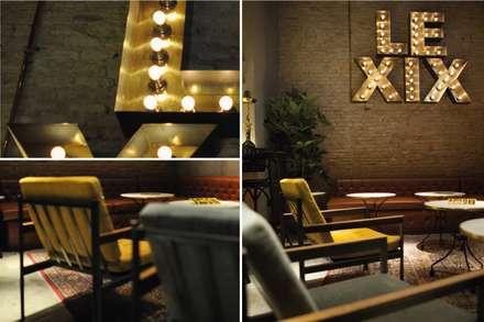 Le XIX: Bodegas de estilo industrial de LabMatic Estudio