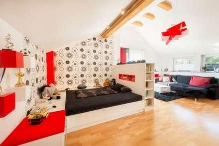 Jugendzimmer In FCN Farben : Moderne Kinderzimmer Von TRÄUME   Ideen Raum  Geben