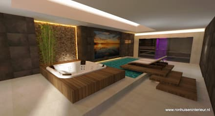 modern Spa by RON Stappenbelt, Interiordesign