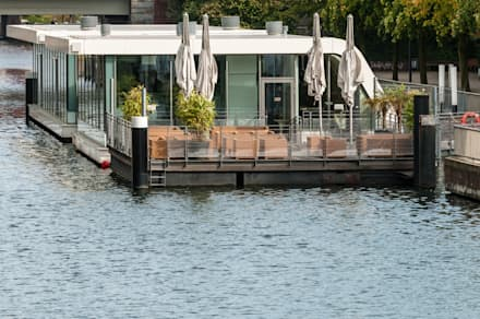 Restaurantes de estilo  por FLOATING HOMES