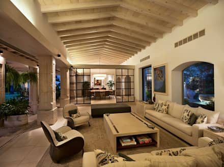 rustic Living room by Artigas Arquitectos
