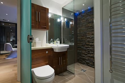 The Edge: modern Bathroom by Boutique Modern Ltd
