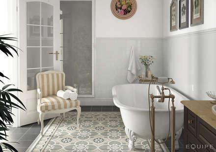 colonial Bathroom by Equipe Ceramicas