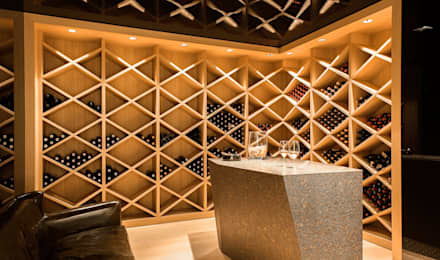 modern Wine cellar by monovolume architecture + design