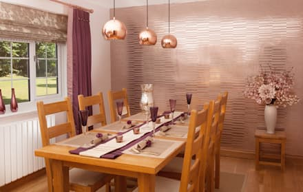 Dining room design ideas inspiration pictures homify feature wall modern dining room by whitehouse interiors sxxofo
