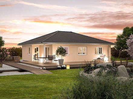 Top Star 93 Garten: moderne Häuser von Hanlo Haus