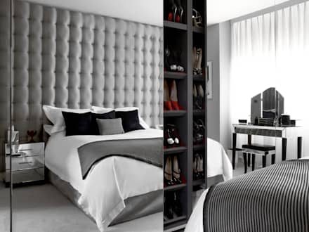 Marylebone: modern Bedroom by LEIVARS