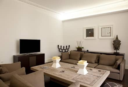 Historic House, Notting Hill, London: Classic Living Room By 4D Studio  Architects And Part 55