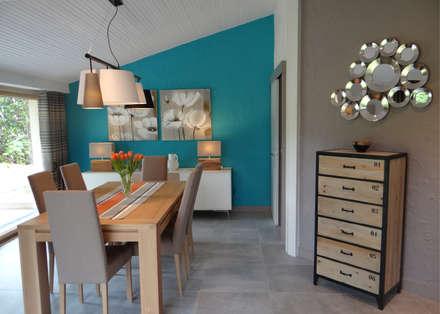 DOUCE RÉVOLUTION: Salle à manger de style de style Moderne par UN AMOUR DE MAISON