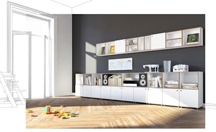 ideen & inspiration für moderne wohnzimmer | homify - Moderne Wohnzimmergestaltung