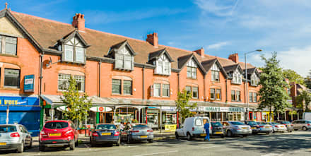 Lapwing Lane Arcade:  Shopping Centres by Pride Road