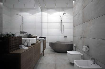 Квартира в Воронеже: Ванные комнаты в . Автор – AFTER SPACE
