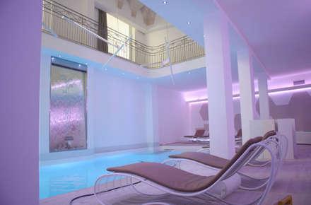 Zen Wellness: Spa in stile in stile Eclettico di Effkey by Francesco Maglie & Ing Luigi Verardi