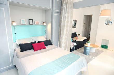 Chambre: Salon de style de style eclectique par Sandra Dages