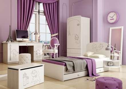 Kinderzimmer Marie: klassische Kinderzimmer von Möbelgeschäft MEBLIK