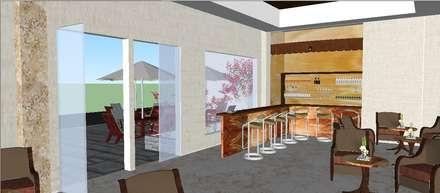 Proyecto Hotel Estilo Oriental / Oriental Style Hotel Project: Hoteles de estilo  de Julia Design
