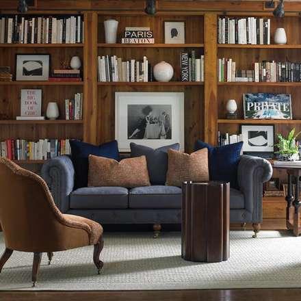 Schon Caracole Interiors: Rustikale Wohnzimmer Von Sweets U0026 Spices Dekoration Und  Möbel