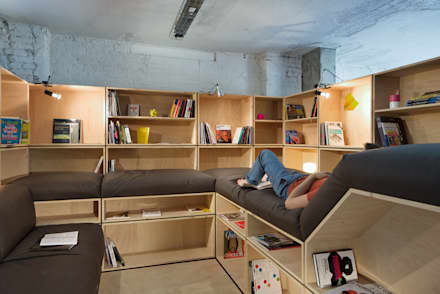 Edificios de oficinas de estilo  por kinzo-berlin