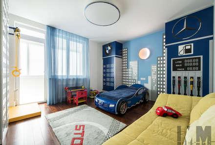 В потоке света: Детские комнаты в . Автор – ММ-design
