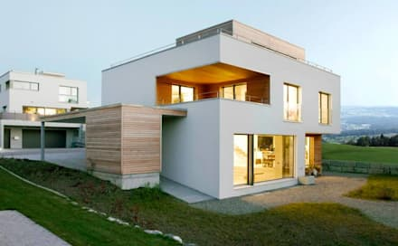 منزل ريفي تنفيذ Marty Häuser AG
