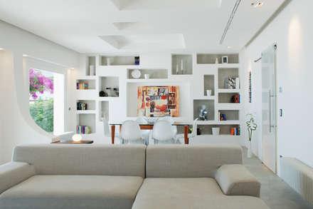 mediterranean Living room by DEFPOINT STUDIO   architettura  &  interni