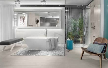 eclectic Bathroom by Ana Rita Soares- Design de Interiores