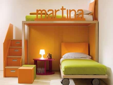 Design Hochbett Mit Containertreppe Von Dearkids : Moderne Kinderzimmer Von  MOBIMIO   Räume Für Kinder