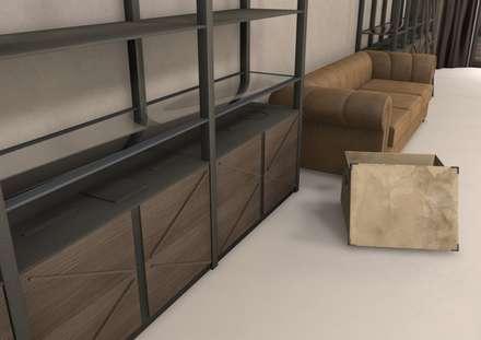 New store shoes and bags: Spazi commerciali in stile  di Masi Interior Design di Masiero Matteo