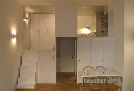 Loft DUQUE DE ALBA. Madrid: Comedores de estilo minimalista de Beriot, Bernardini arquitectos