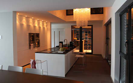 moderne Wijnkelder door Degré 12