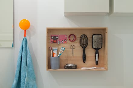 Kinderbad Pastel: skandinavische Badezimmer von Berlin Interior Design