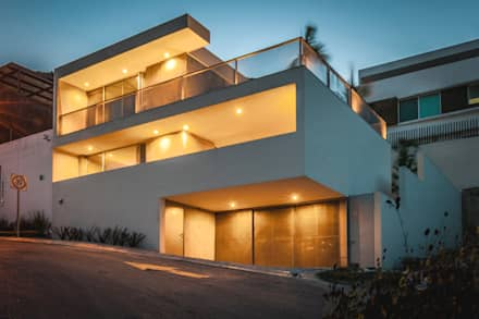 منازل تنفيذ P+0 Arquitectura