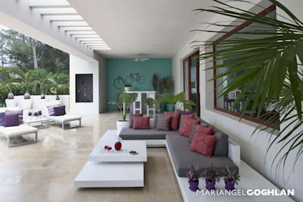 Terraza: Terrazas de estilo  por MARIANGEL COGHLAN