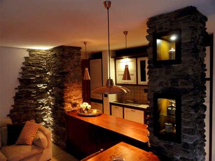 Casas de estilo  por Errequadro Progetto