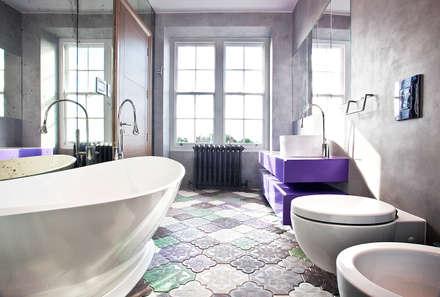 Bathroom: modern Bathroom by Roselind Wilson Design