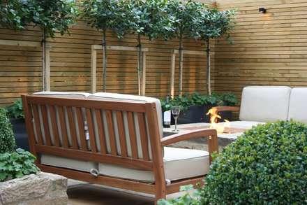 Urban Courtyard For Entertaining: Modern Garden By Bestall U0026 Co Landscape  Design Ltd
