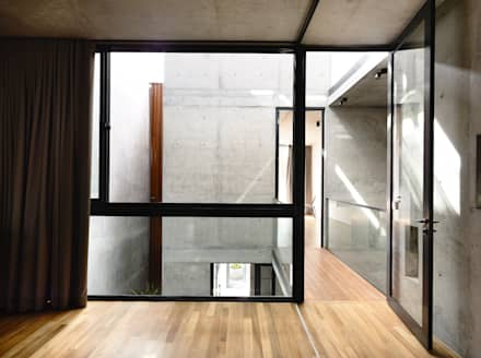 Well of Light: modern Windows & doors by HYLA Architects