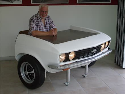 Manta A Schreibtisch: ausgefallene Arbeitszimmer von Automöbeldesign