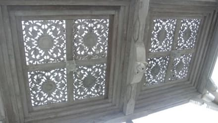 Casas de madera reciclada : Casas de estilo asiático de Ale debali study