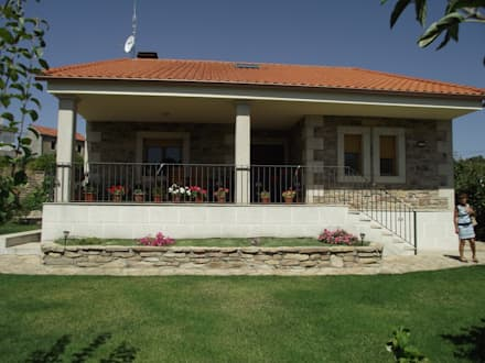 VIVIENDA UNIFAMILIAR : Casas de estilo rural de Meana Arquitectos