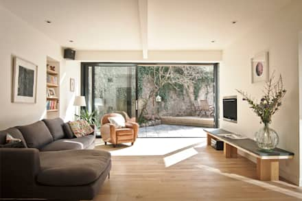 Headlands Cottage - Interior: modern Living room by Barc Architects