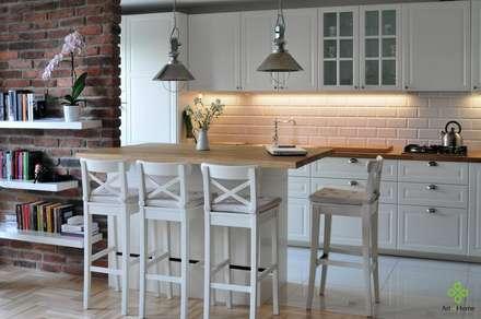 Pokój z aneksem - jak maksymalnie można to wykorzystać?: styl , w kategorii Jadalnia zaprojektowany przez Art of home