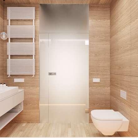 MIESZKANIE PJ: styl , w kategorii Łazienka zaprojektowany przez 081 architekci