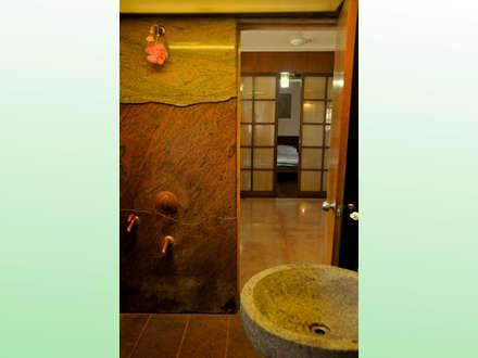 Residence at Bandra: asian Bathroom by Design Kkarma (India)