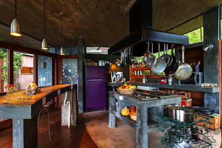 Cocinas de estilo rural por Ferraro Habitat
