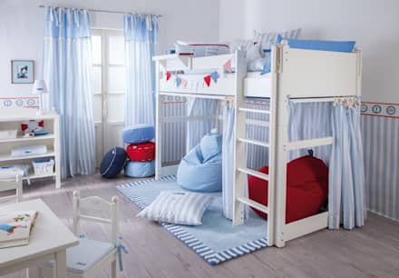 ausgefallene kinderzimmer ideen inspiration homify. Black Bedroom Furniture Sets. Home Design Ideas