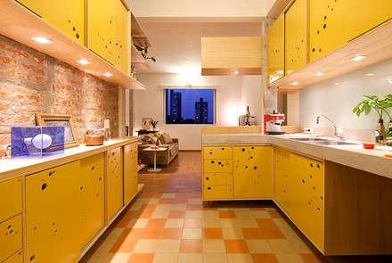 Nhà bếp by Zoom Urbanismo Arquitetura e Design