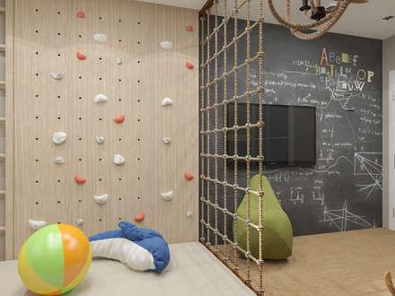 Квартира 120м2 в г. Казань: Детские комнаты в . Автор – PlatFORM